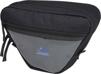 Jandd Mountain 1 Handlebar Bag Color: Black