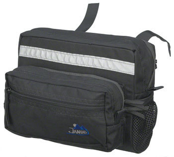 Jandd Mountain 2 Handlebar Bag Color: Black