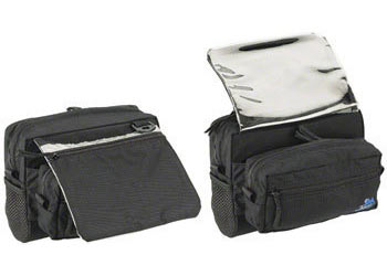 Jandd Mountain 4 Handlebar Bag Color: Black
