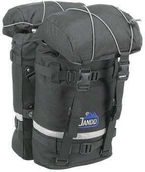 Jandd Mountain Pannier Set Color: Black