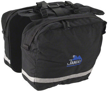 Jandd Saddle Bag Pannier Set Color: Black