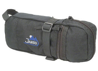 Jandd Tire Bag II Seat Bag Color: Black