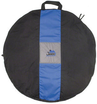 Jandd Wheel Bag Color: Black/Blue