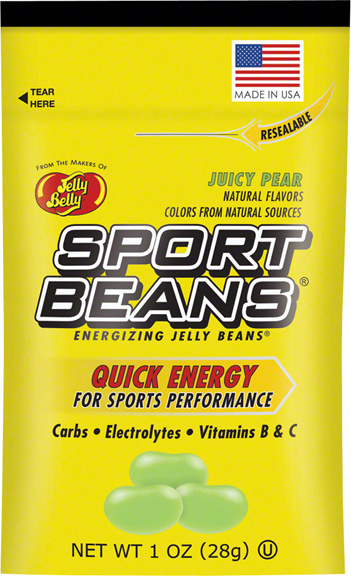 Jelly Belly Sport Beans Flavor | Size: Juicy Pear | 24-pack