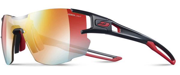 Julbo Aerolite Color | Lens: Black/Red | REACTIV Zebra Light
