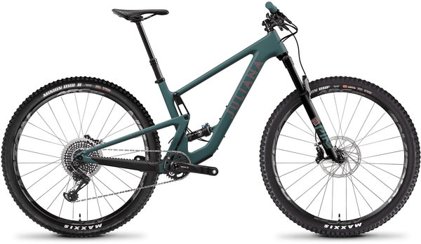 Juliana Joplin Carbon CC XO1 Color: Aquarius Green
