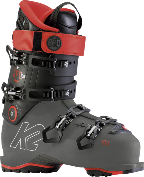 K2 BFC 100 Heat GripWalk Color: Charcoal/Red