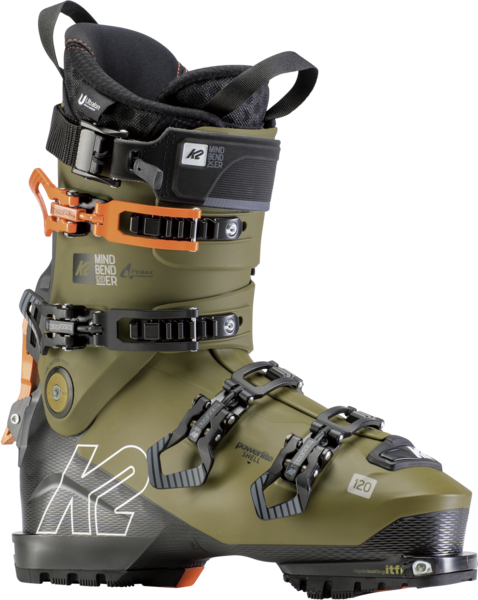 K2 Mindbender 120 Color: Gray/Olive