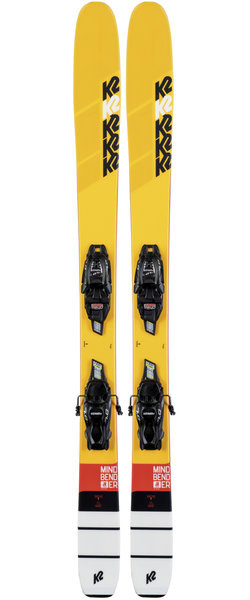 K2 Mindbender Jr + Marker FDT 7.0