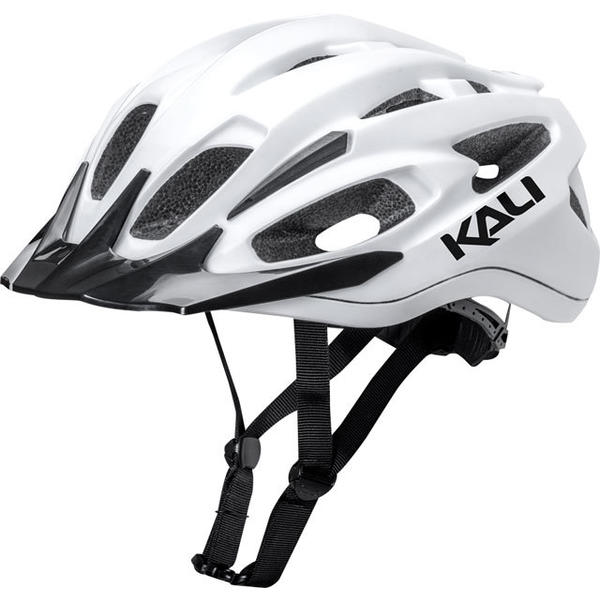 Kali Protectives Alchemy Helmet Color: Elevate - Matte White/Black