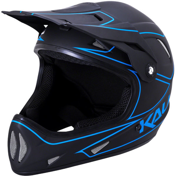 Kali Protectives Alpine Color: Rage - Matte Black/Blue