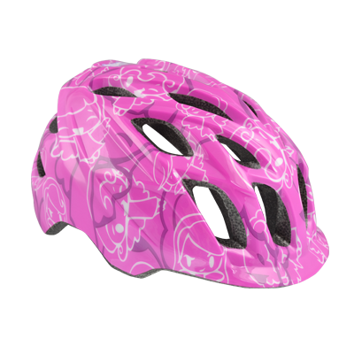 Kali Protectives Chakra Child Helmet Color: Fairies Purple