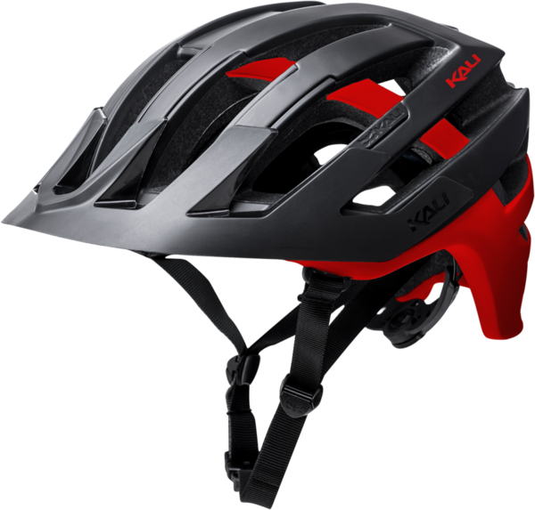 Kali Protectives Interceptor Color: Dual - Matte Black/Red