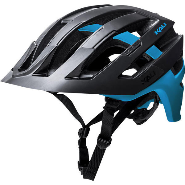 Kali Protectives Interceptor Helmet Color: Matte Black/Blue