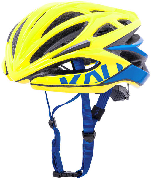 Kali Protectives Loka Color: Valor - Gloss Yellow/Blue
