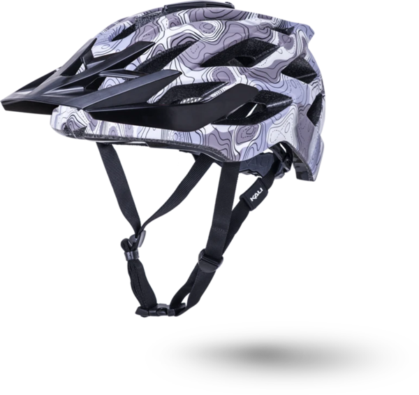 Kali Protectives Lunati Color: Topo Camo/Matte Purple