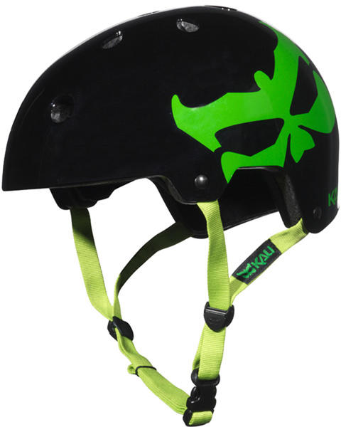 Kali Protectives Maha Helmet Color: Logo Neon Green