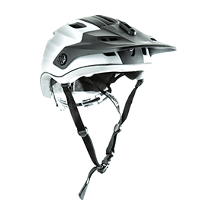 Kali Protectives Maya Helmet Color: Duo Matte White/Black