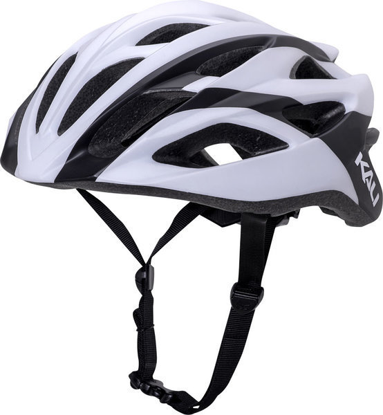 Kali Protectives Ropa Helmet Color: Charge Matte White/Black