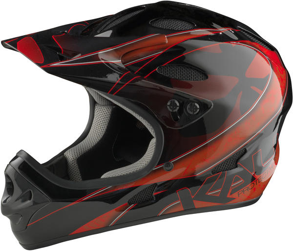 Kali Protectives Savara Helmet Color: Masquerade Red