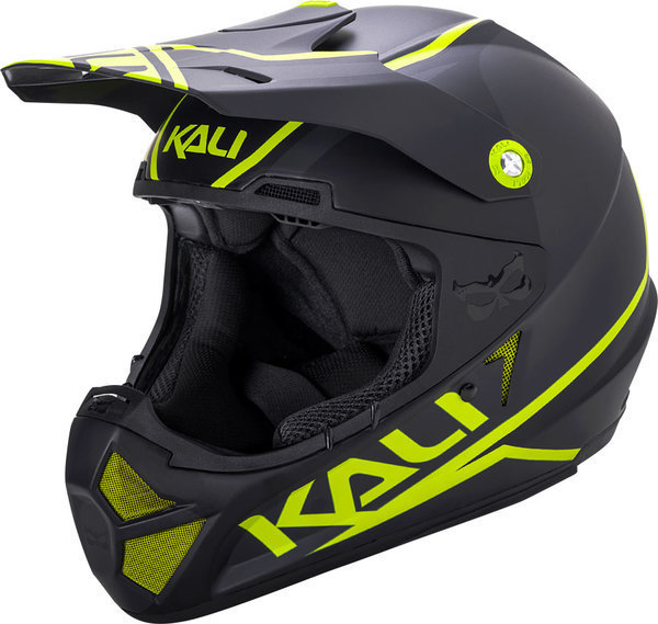 Kali Protectives Shiva 2.0 Helmet Color: Matte Black/Lime