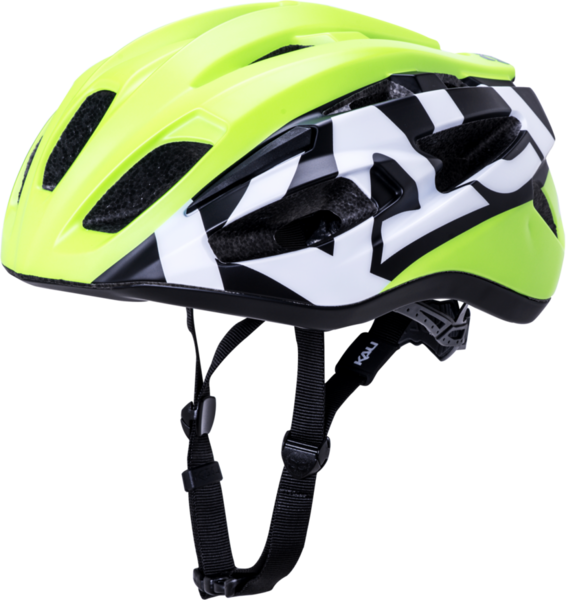 Kali Protectives Therapy Color: Century - Matte Fluo Yellow/Black