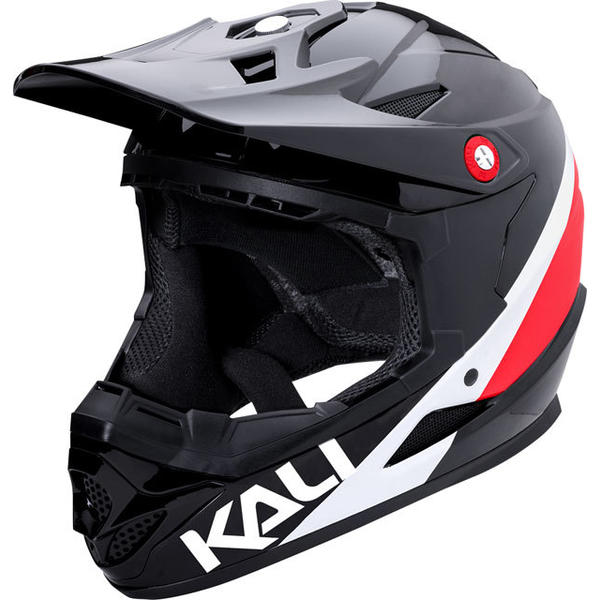 Kali Protectives Zoka Helmet Color: Black/Red/White