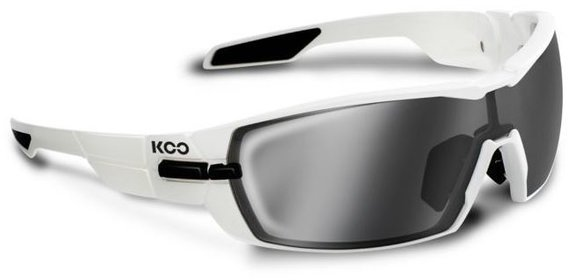 KASK KOO OPEN Sunglasses Lens: Blue Sky + Clear Black Light Blue