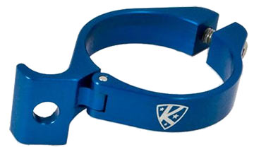 K-Edge Braze-On Adapter Clamp Color: Blue
