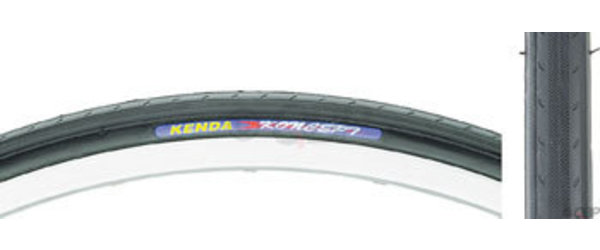 Kenda Koncept 650c Bead | Color | Size: Wire | Black | 650c x 23