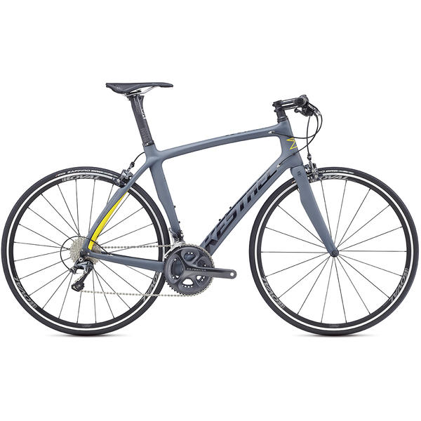Kestrel RT-1000 Flat Bar Shimano Ultegra Color: Satin Dark Gray / Gloss Black