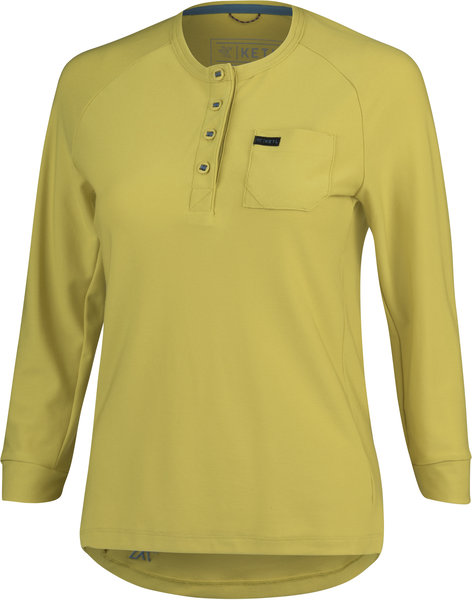 KETL 3/4 Sleeve Jersey Color: Mustard