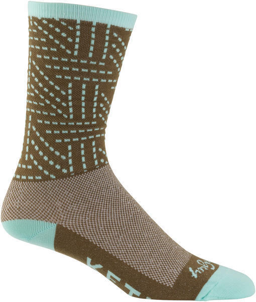 KETL Logo Sock Color: Olive/Mint