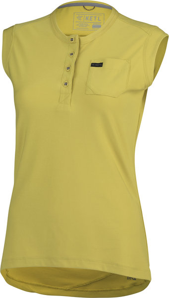 KETL Sleeveless Jersey Color: Mustard