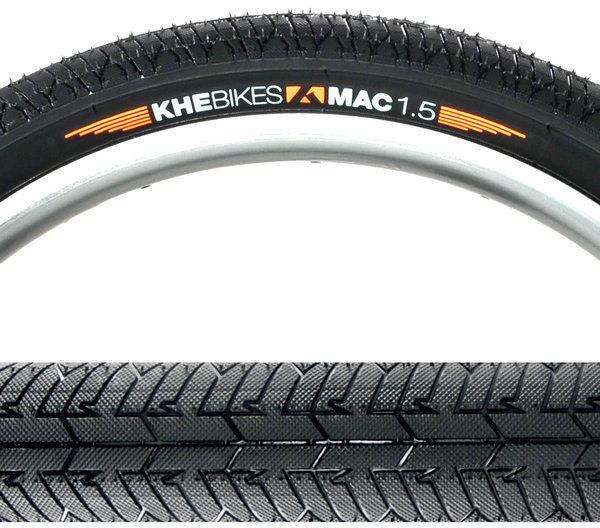 KHE MAC1.5 PARK/FLAT 20 x 50mm Folding Black Tire