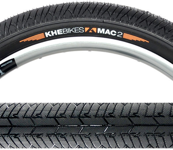 KHE MAC2 PARK Folding Black Tire