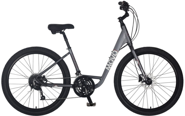 KHS Movo 2.0 Step-Thru Color: Gray
