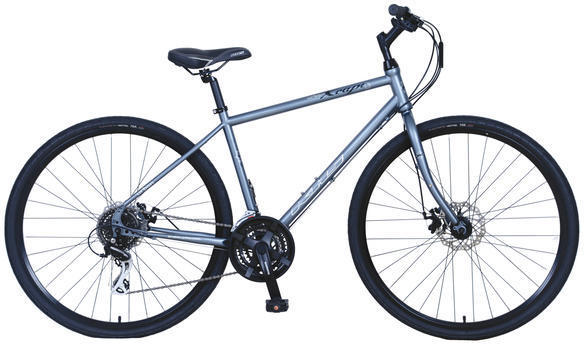 KHS Urban Xcape Disc Color: Gray
