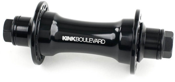Kink Boulevard Front Hub Color: Black