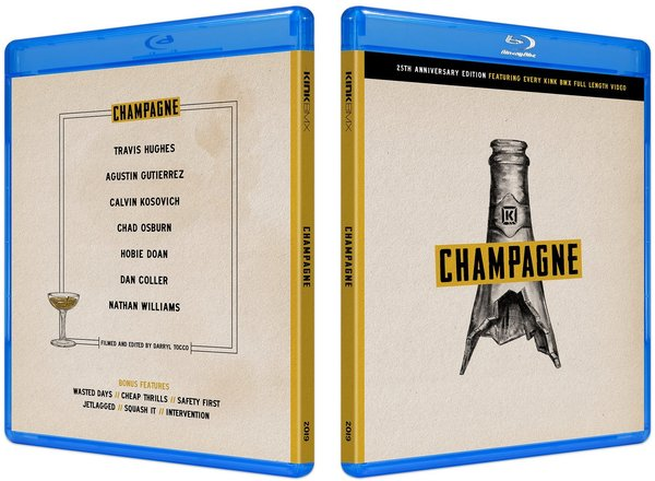 Kink Champagne Collections Blu-Ray