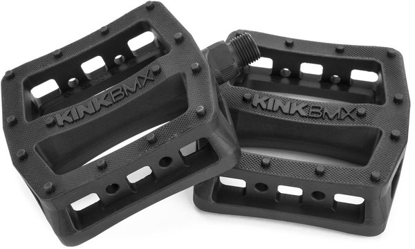 Kink Hemlock Pedals Color: Black