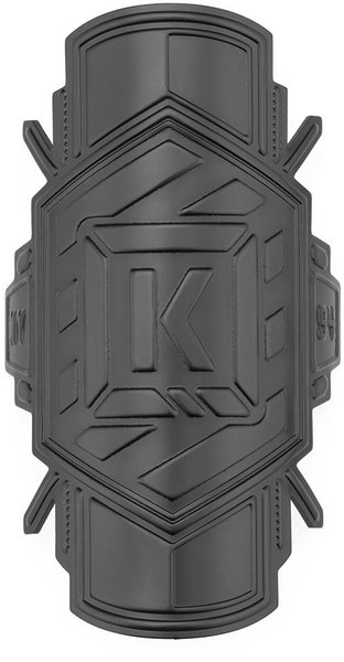 Kink K-Brick Headtube Badge Color: Matte Black