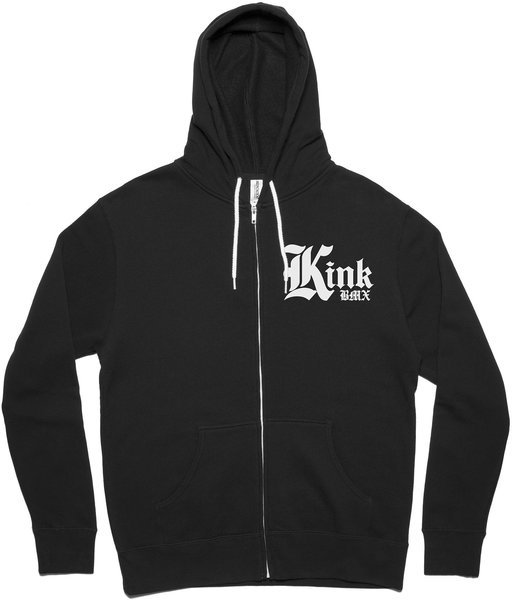 Kink O.E. Zip-Up Color: Black