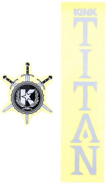 Kink Titan Decals Color: Grey