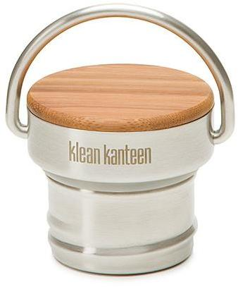 Klean Kanteen Bamboo Cap Color: Brushed Stainless