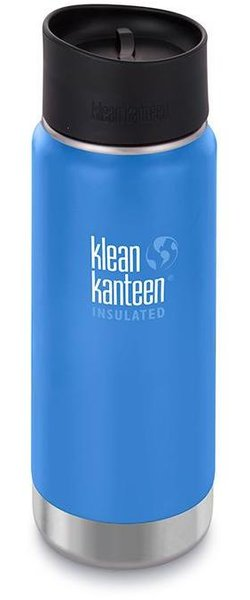 Klean Kanteen Insulated Wide Color | Size: Pacific Sky | 16-ounce