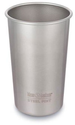 Klean Kanteen Steel Pint Color: Brushed Stainless