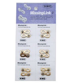 KMC MissingLink Connector Model: MissingLink-9 6-pack