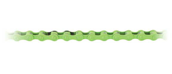 KMC Z410 BMX Chain Color | Length | Speeds: Green | 112 Links | Single-speed