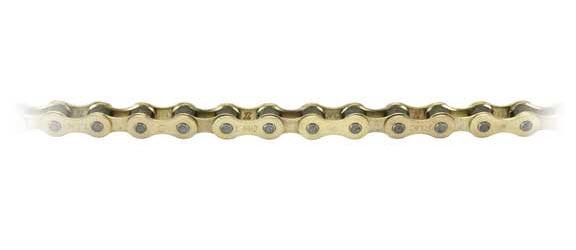 KMC Z410 BMX Chain Color | Length | Speeds: Gold | 112 Links | Single-speed